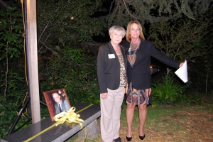 Bettye Burns -President Donegan Burns Foundation alongside with Deborah Zoller - President Boys and Girls Club North County
