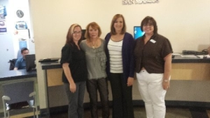 Jennifer, Liz, Vonda, and Michele, - Financial Team